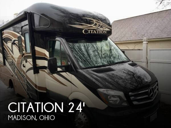 2014 Thor Motor Coach Citation 2014 Thor Siesta Citation 24SR