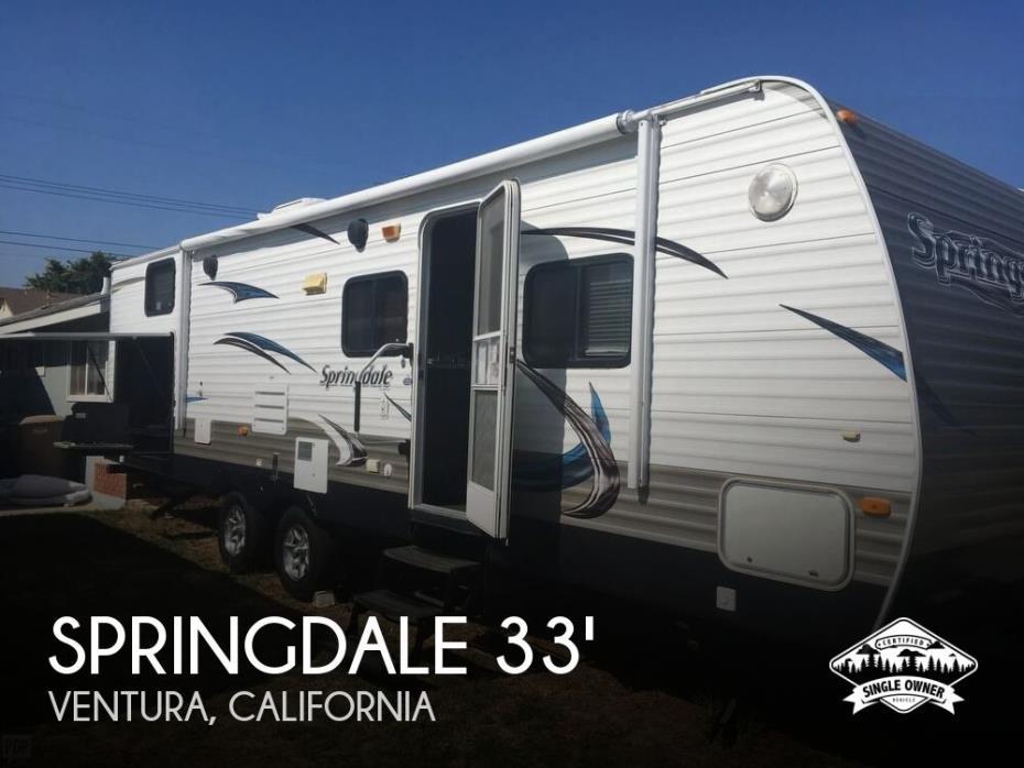 2013 Keystone Springdale 294BHSSR