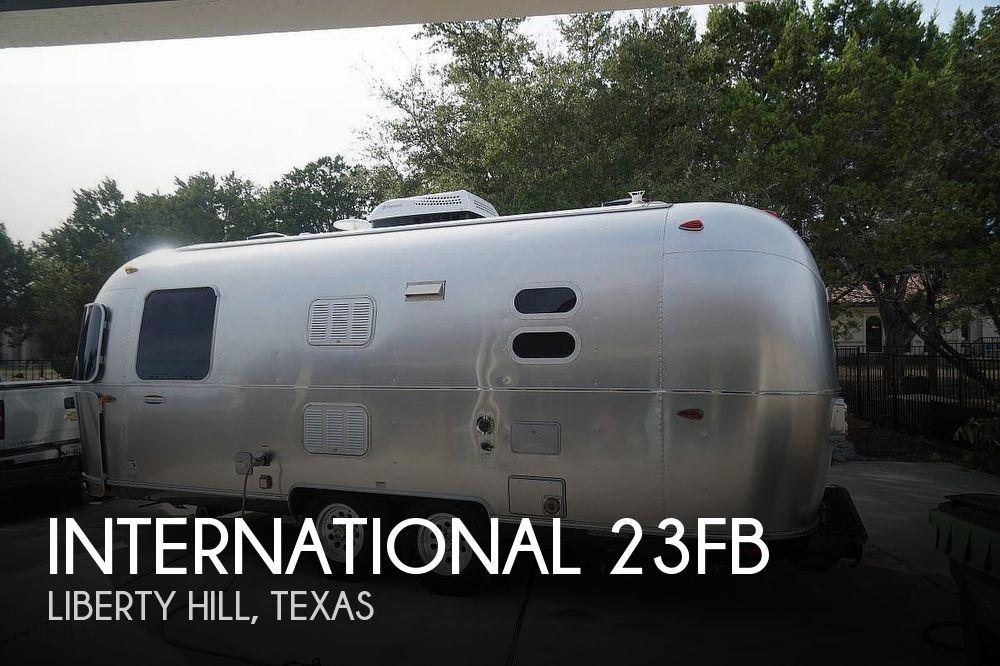 2017 Airstream International 23FB