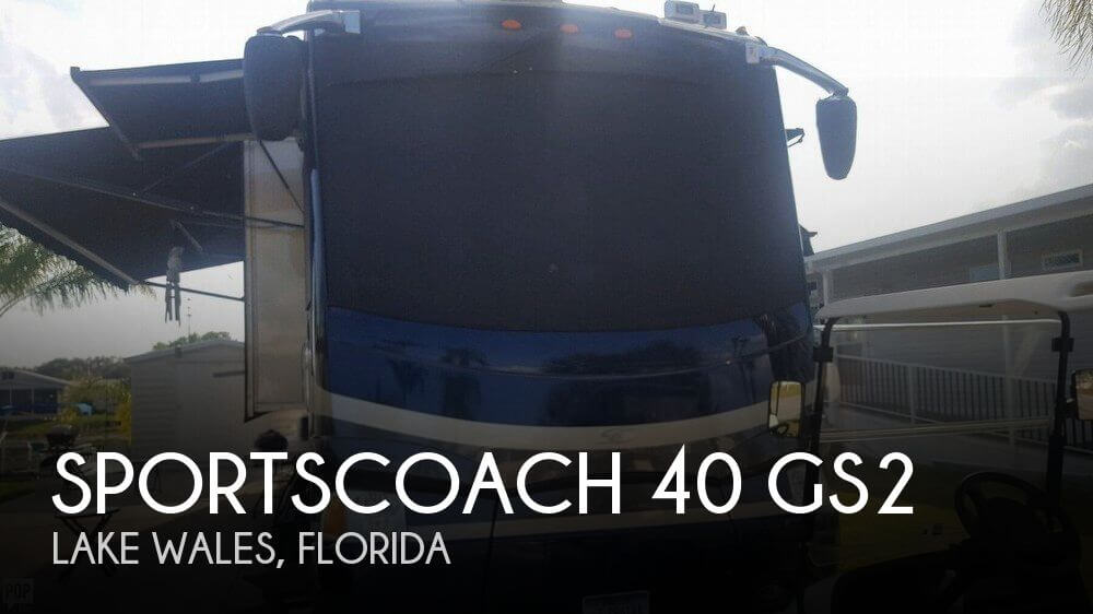 2007 Coachmen Sportscoach 40 GS2
