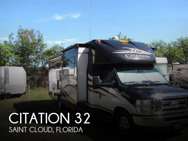 2014 Thor Motor Coach Citation 32
