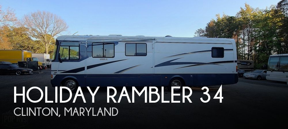 2002 Holiday Rambler Holiday Rambler 34