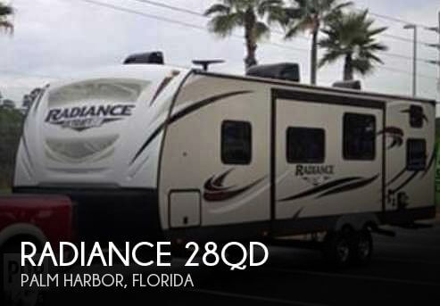 2018 Cruiser RV Radiance 28QD