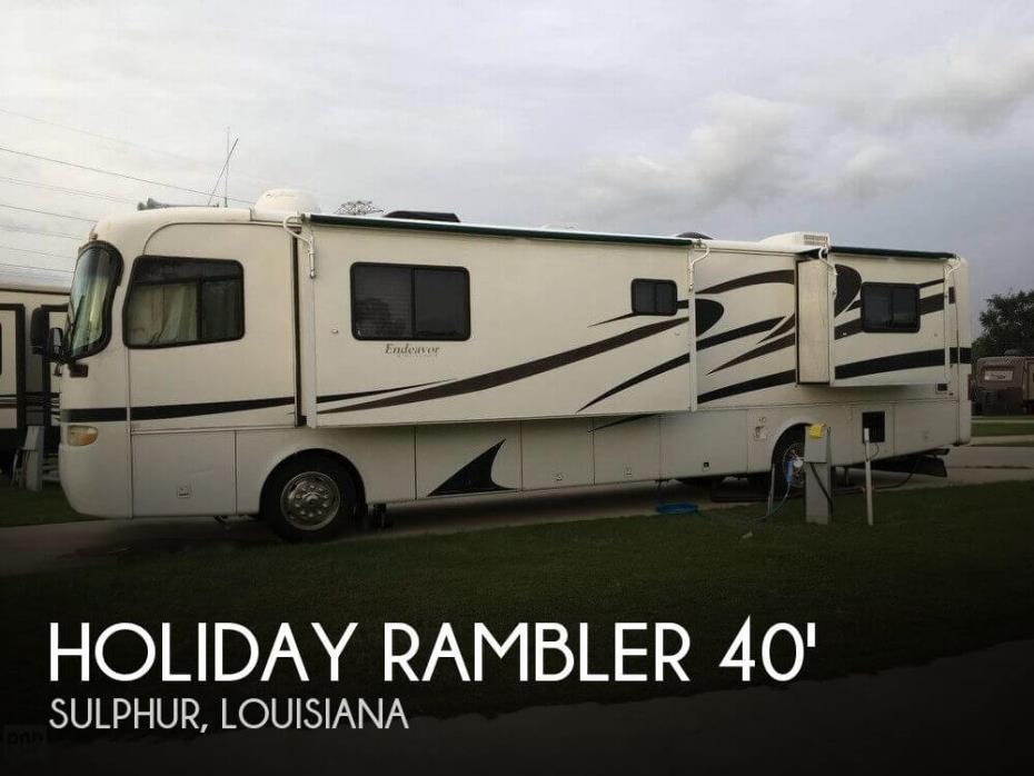 2001 Holiday Rambler Holiday Rambler 40 PBD