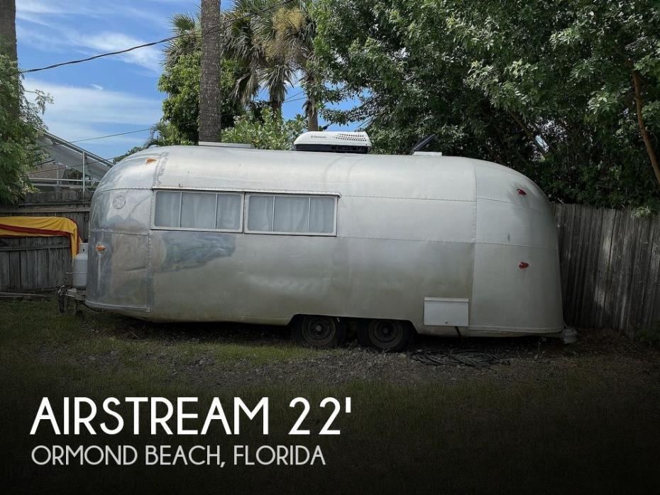 1958 Airstream Airstream World Traveler 22