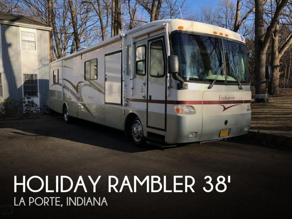 2000 Holiday Rambler Holiday Rambler Endeavor 38 WDD