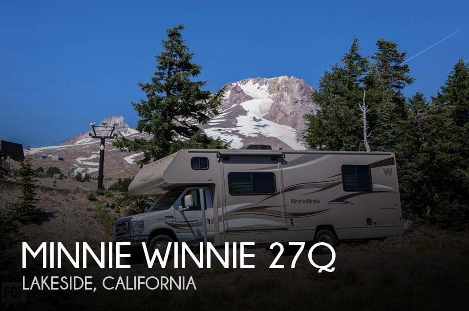 2014 Winnebago Minnie Winnie Premier 27QP