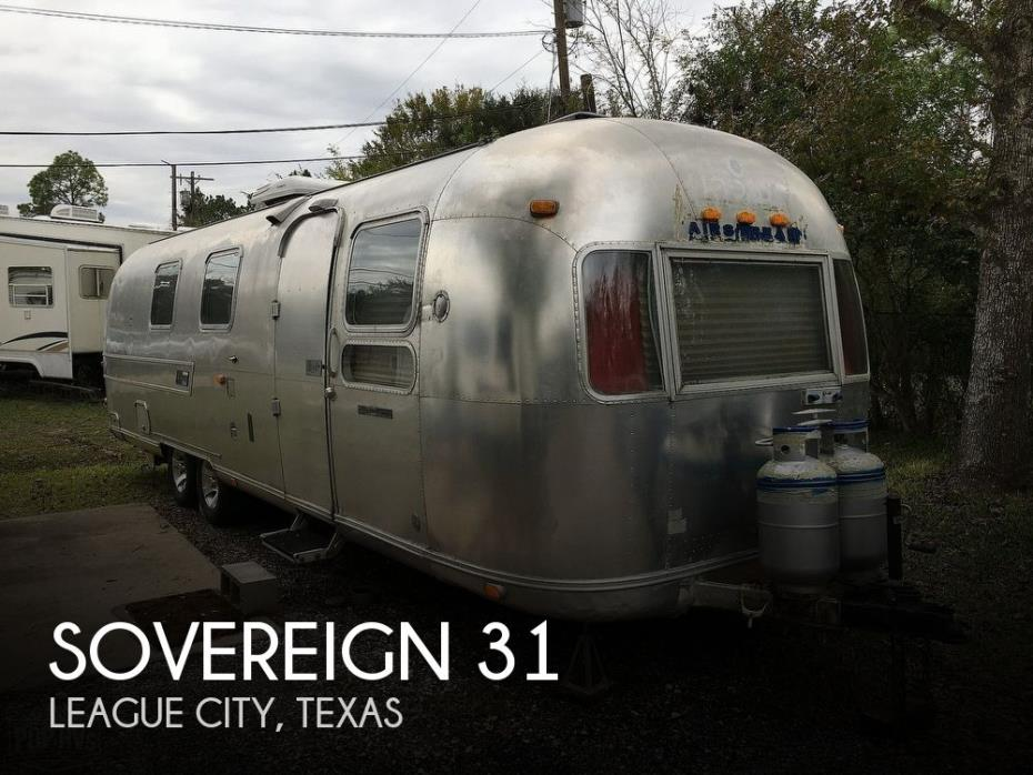 1973 Airstream Sovereign 31