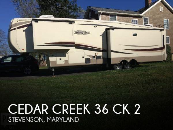 2018 Forest River Cedar Creek 36 CK 2