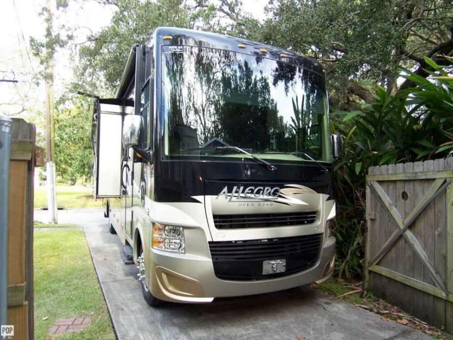 2014 Tiffin Allegro Tiffin 35 QBA Class A Bunk Coach, 1