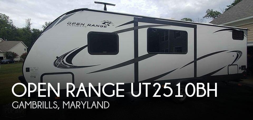 2019 Highland Ridge Open Range Ut2510bh