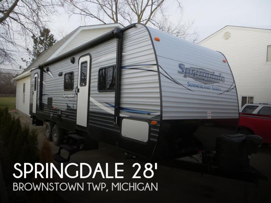 2017 Keystone Springdale Summerland 2820 BH