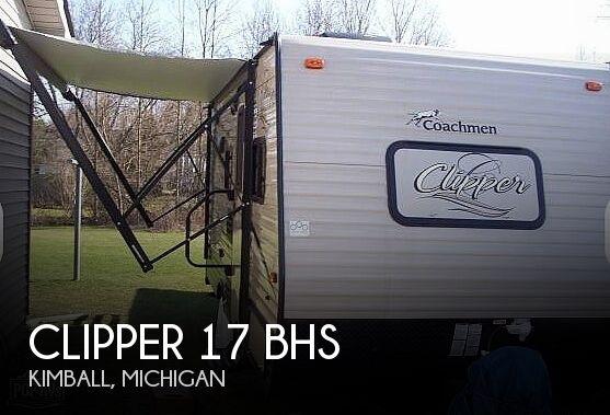 2018 Coachmen Clipper 17BHS