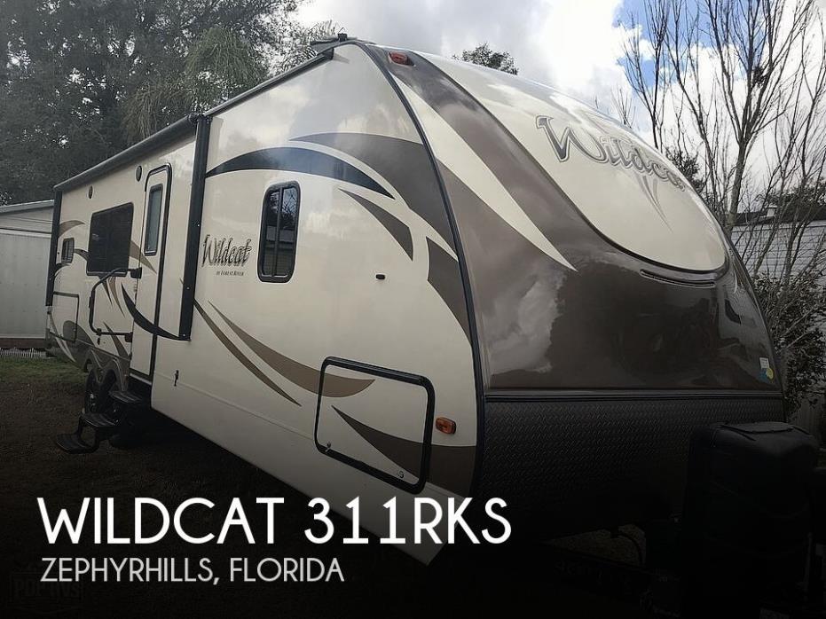 2018 Forest River Wildcat 311RKS
