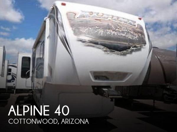 2012 Keystone Alpine 3450RL