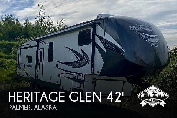 2018 Forest River Heritage Glen WBF370BL