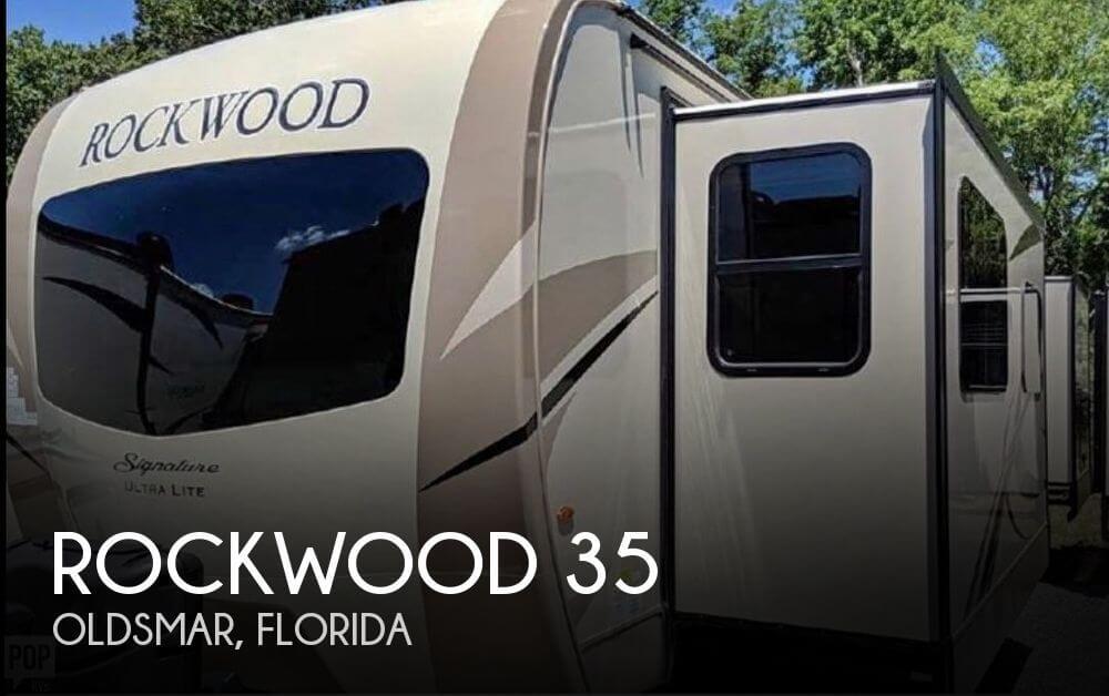 2018 Forest River Rockwood 35