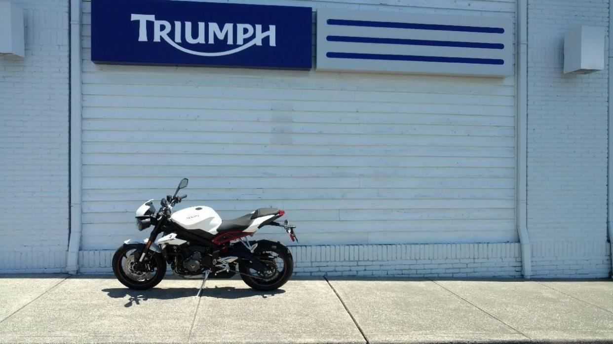 2018 Triumph Street Triple R