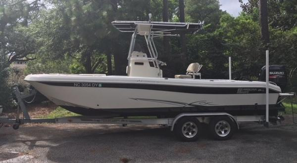 2017 TRACKER BOATS GRI ZZLY 2072 CC 150 EXLPT WITH TRAILER