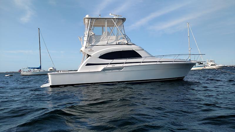 1988 Ocean Yachts 35 SS