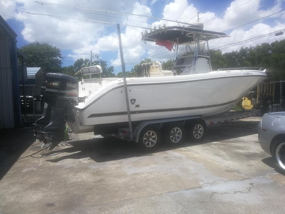 2018 Sportsman Boats Open 282 Center Console