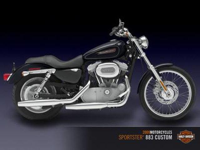 2009 Harley-Davidson SPORTSTER 883 CUSTOM XL883C