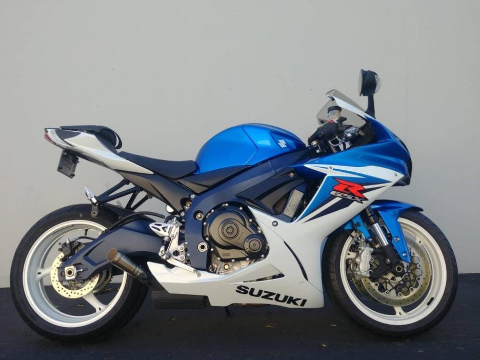 2011 Suzuki GSXR 600