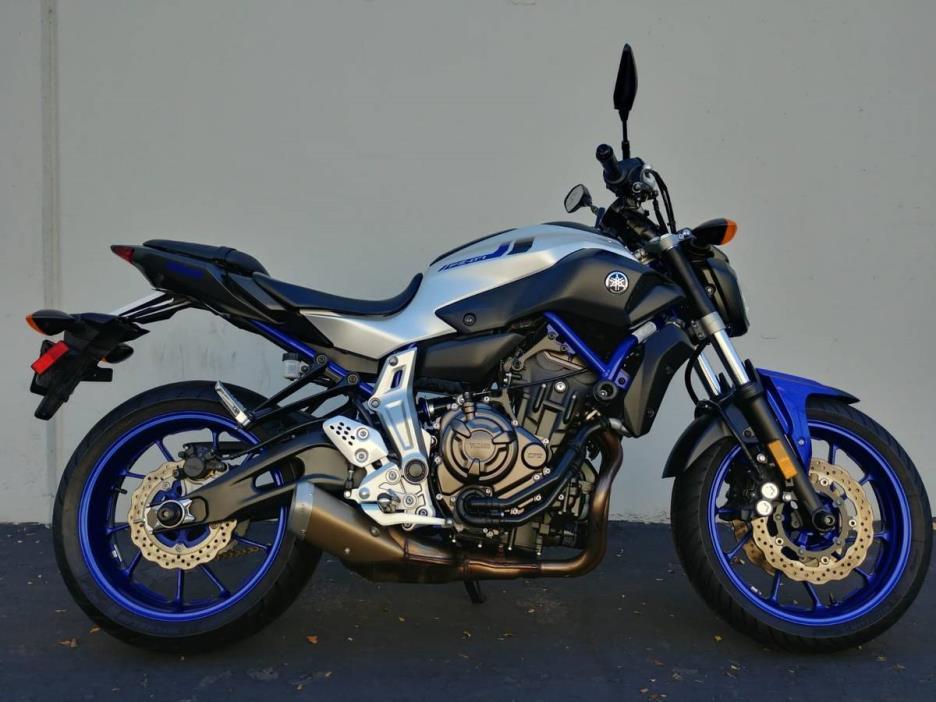 2016 Yamaha FZ07