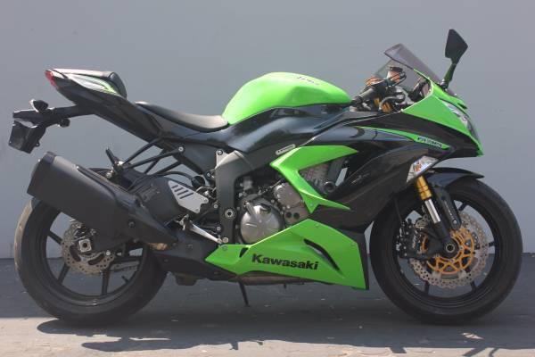 2013 Kawasaki ZX6R