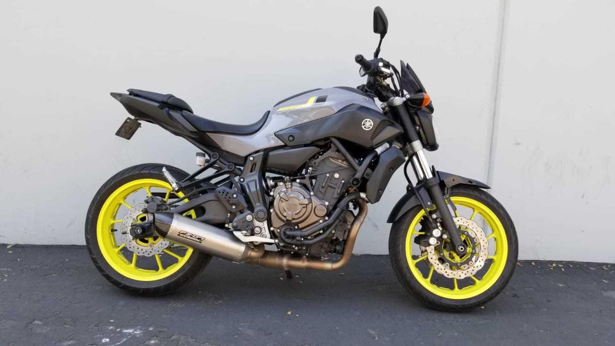 yamaha fz 07 motorcycles for sale. Black Bedroom Furniture Sets. Home Design Ideas