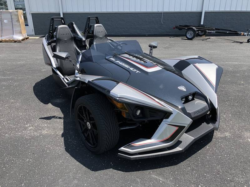2017 Polaris Slingshot SLR Turbo Silver Factory Demo