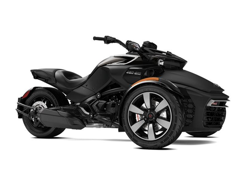 2018 Can-Am Spyder F3-S 6-speed semi-automatic with reverse (SE6)