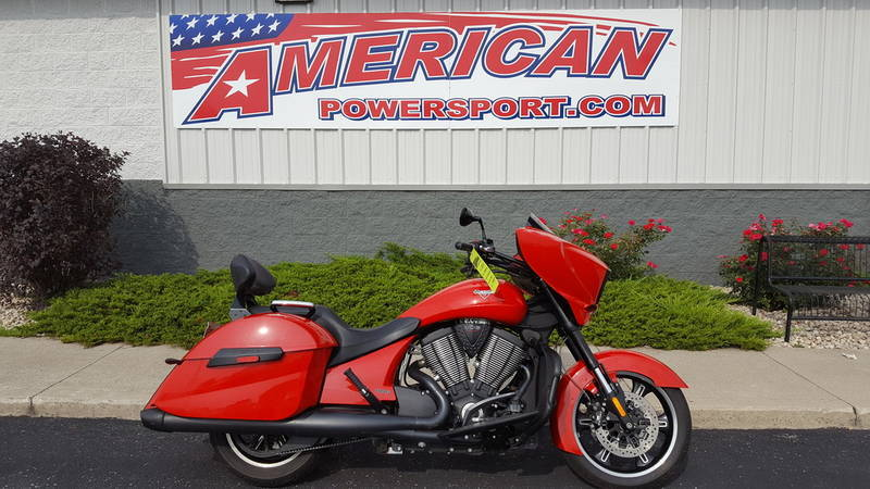 2014 Victory Motorcycles Cross Country Havasu Red