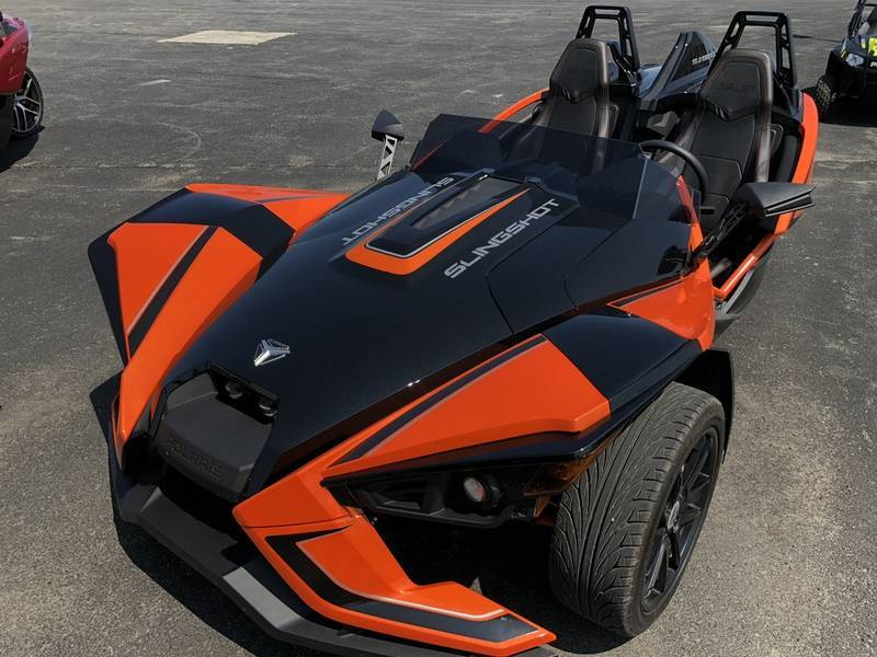 2017 Polaris Slingshot SLR Orange Madness Factory demo