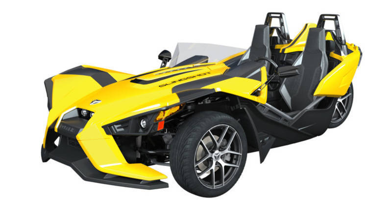 2018 Polaris Slingshot Slingshot SL Icon Daytona Yellow