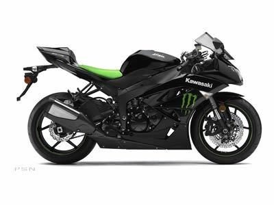 2009 Kawasaki Ninja ZX™-6R Monster Energy