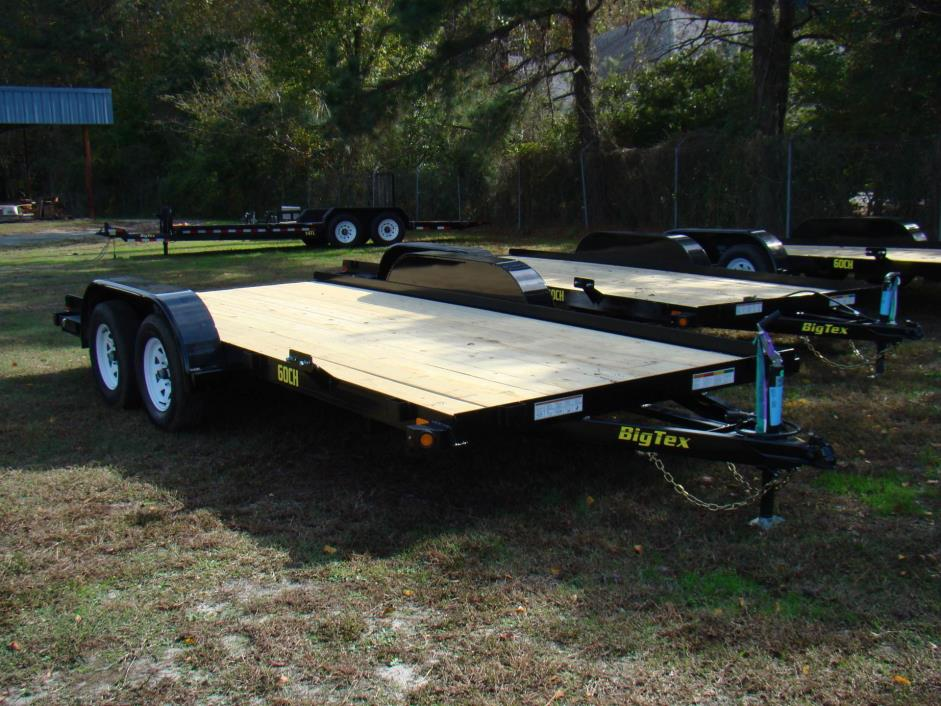 2018 Big Tex Trailers 16'Car Hauler