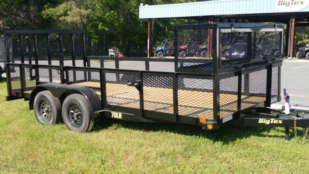 2018 Big Tex Trailers 70LR-16BK