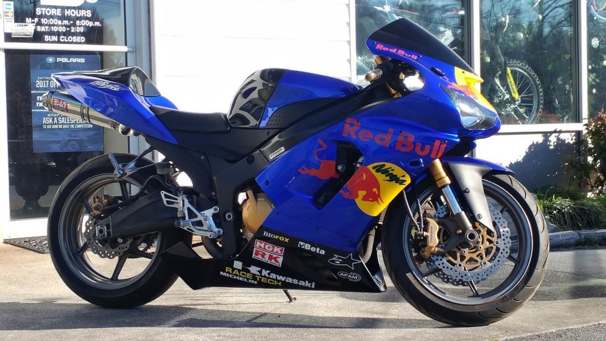 2005 Kawasaki Ninja ZX-6R