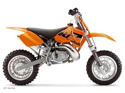 2005 KTM 50 SX Pro Junior LC