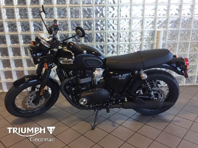 2020 Triumph Bonneville T100 Black