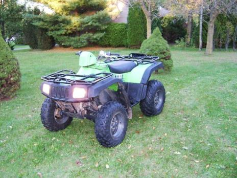 Arctic Cat 650 V Twin ATV 4 X 4