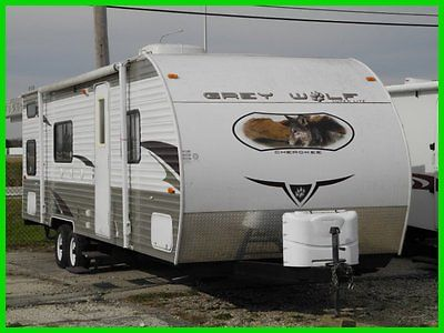 2011 Forest River Grey Wolf 28BHKS Used TRAVEL TRAILER BUNK HOUSE BUNKHOUSE RV