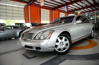 Maybach : Other SWB 04 maybach 57 swb 41 k bose nav pdc f r active vent rear entertainment cooler