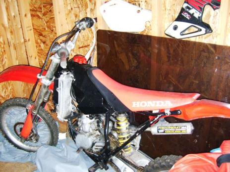 1997 Honda CR80 Motorcross Bike