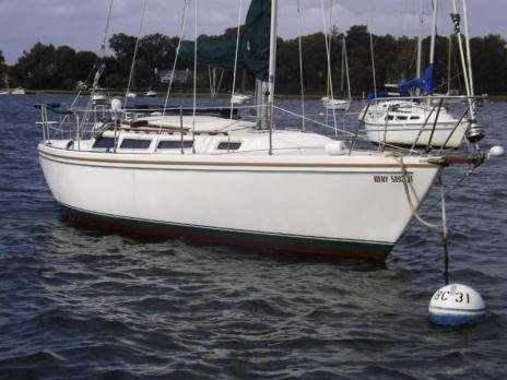1985 CATALINA 30 SAILBOAT YANMAR DIESEL VG COND WELL MAINTAINED