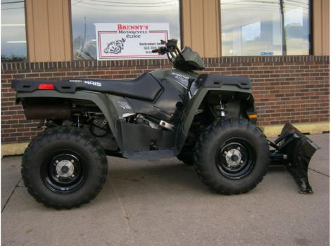 2012 Polaris 800 Sportsman EFI Snow Plow