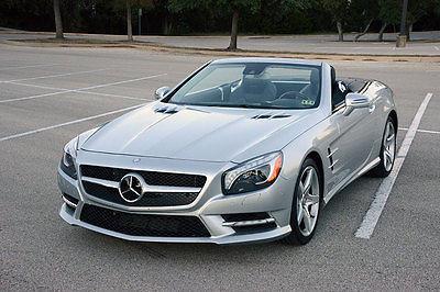 Mercedes-Benz : SL-Class sl550 Sport Mercedes Benz SL550 2013 Hard Loaded 118k Sticker Perfect Carfax