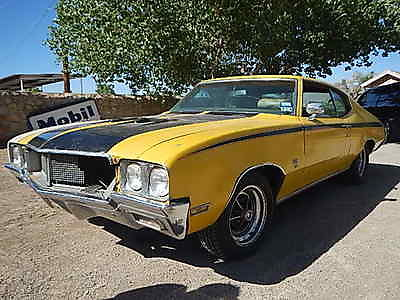 Buick : Skylark TRUE GS 455 1970 buick skylark gs 455 gs 455 a c tilt cruise control rally gauges barn find
