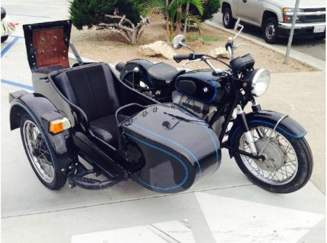1956 BMW R69 Frame-R80 Engine-1979 URAL Sidecar